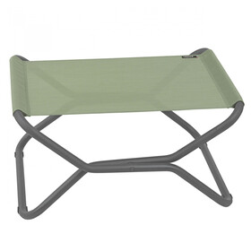 Lafuma Mobilier Next Foot Rest with Cannage Phifertex moss